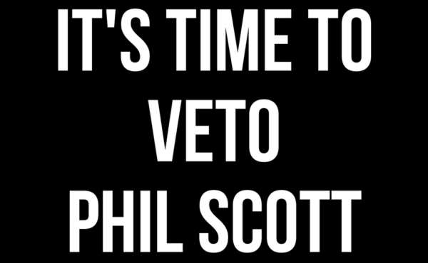 It's Time to Veto Phil Scott