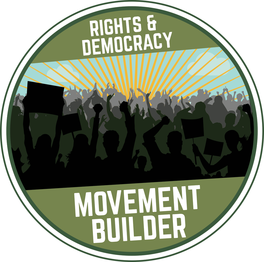 Rights & Democracy Movement Builder Award