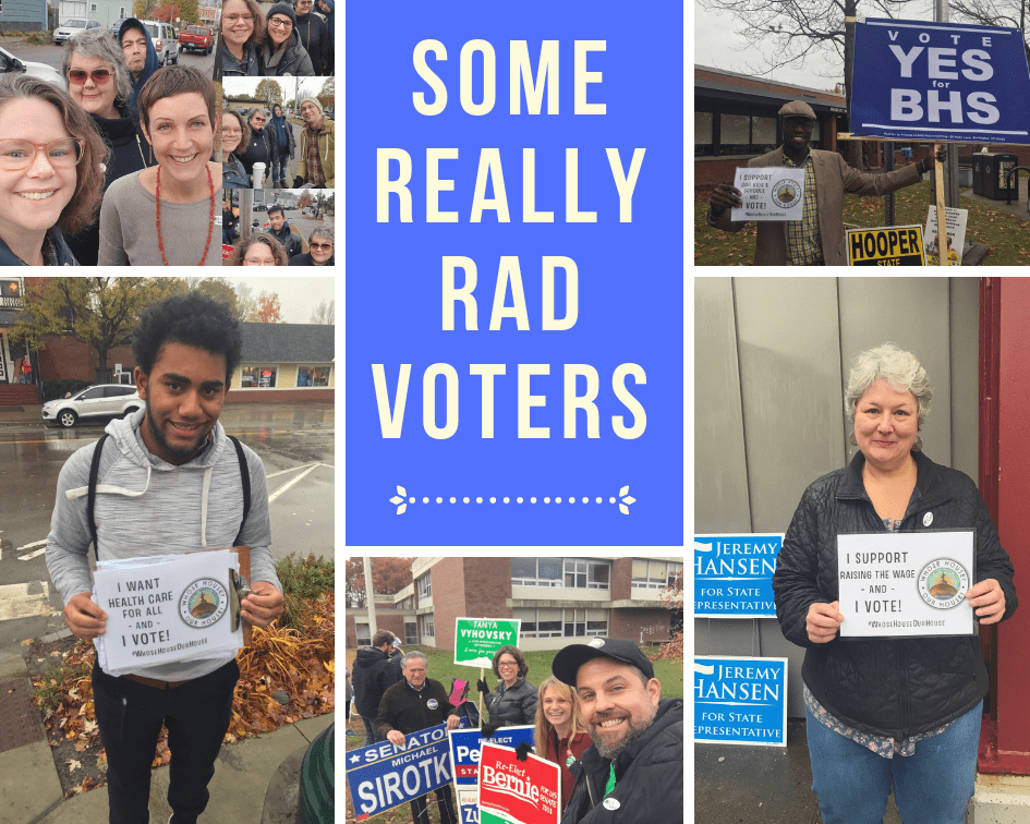 Thanks RAD Vermont Voters!
